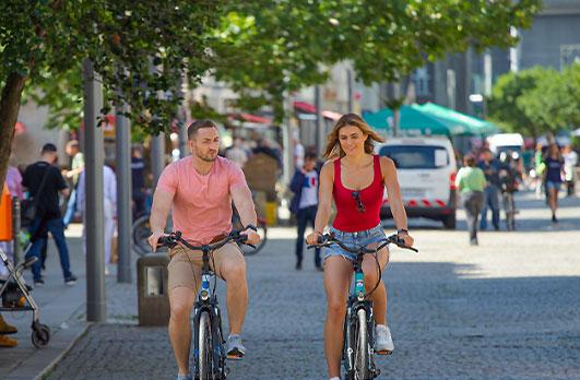 Městská a skládací kola