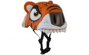 Dětská helma CRAZY SAFETY Tiger oranžová