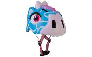 Dětská helma Crazy safety giraffe modrá