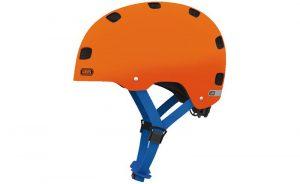 Helma Abus Scraper Kids 3 oranžová