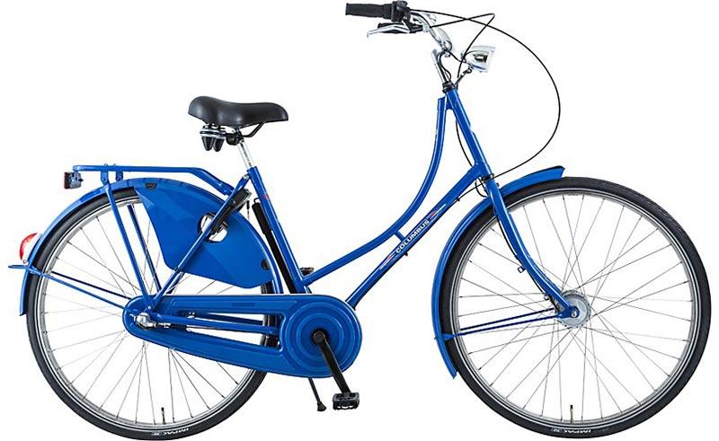 Holandské kolo COLUMBUS DELUXE modré