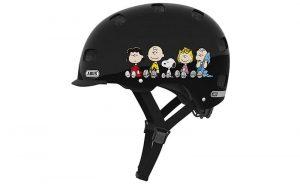 Dětská helma scraper peanuts černá