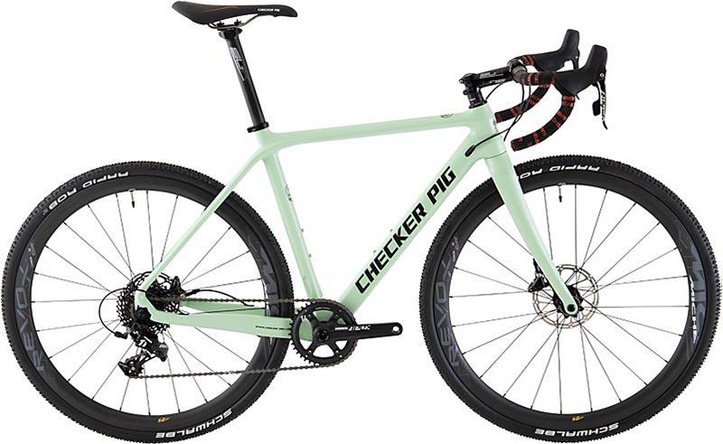 Cyklokrosové kolo CHECKER PIG Cross Pig 11 rychl. zelené