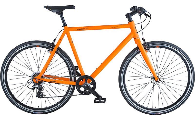 Krosové jízdní pánské kolo BBF Urban 2.0 oranžové